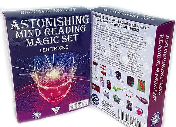 Astonishing Mind Reading Magic Set - 120 Tricks Magic