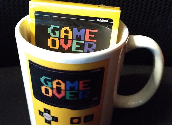 Game Over Playing Cards Mug Set