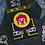 Thumbnail: Pixel Clown Playing Cards Mug set