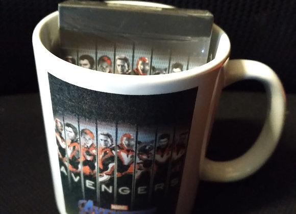 Avengers Endgame Final Playing Cards Mug Set