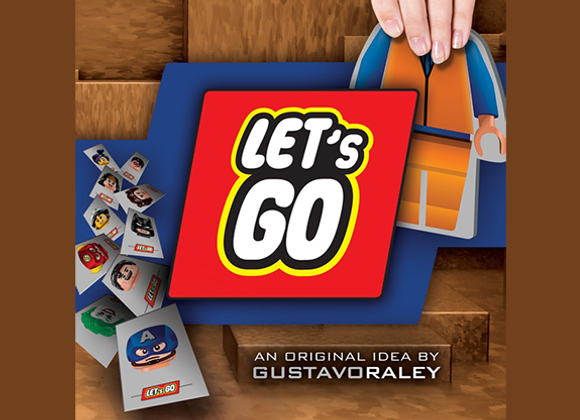 LET'S GO by Gustavo Raley (GV $12)