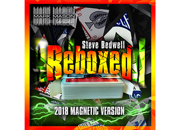 Reboxed Magnetic Version Red  by Steve Bedwell and Mark Mason