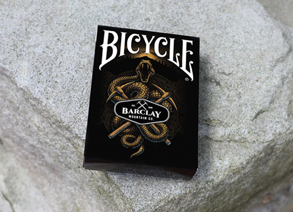 Bicycle Barclay Mountain Playing Cards  (GV $3)