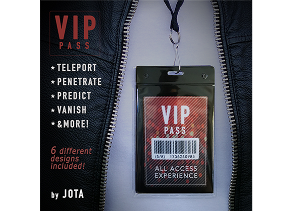 VIP PASS by JOTA (Preowned)