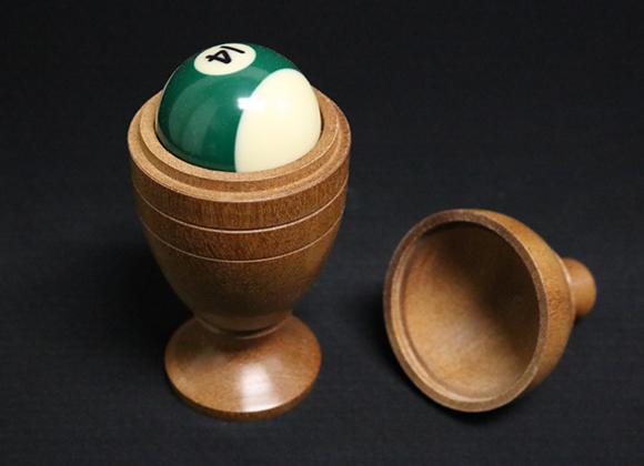 Deluxe Wooden Pool Ball Vase by MerlinsMagic (GV $20)