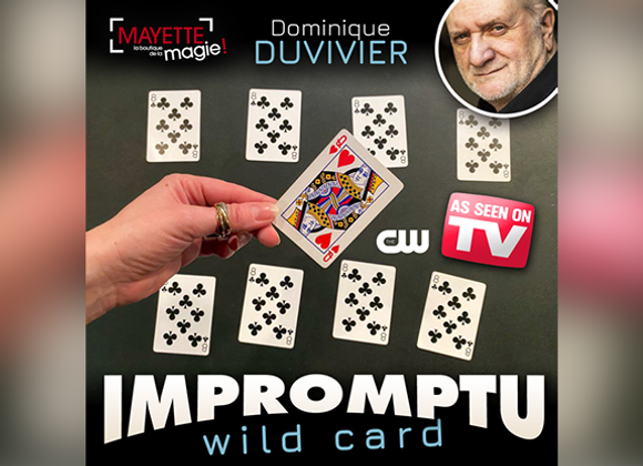 Impromptu Wild Card by Dominique Duvivier