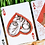 Thumbnail: Zoo 52 (Woof Whiskers) Playing Cards by Elephant Playing Cards