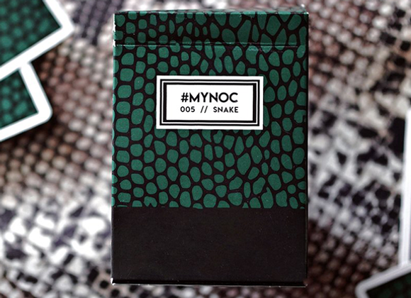 MYNOC: Snake Edition Playing Cards (GV $2)