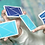 Thumbnail: Flexible Gradients Blue Playing Cards by TCC