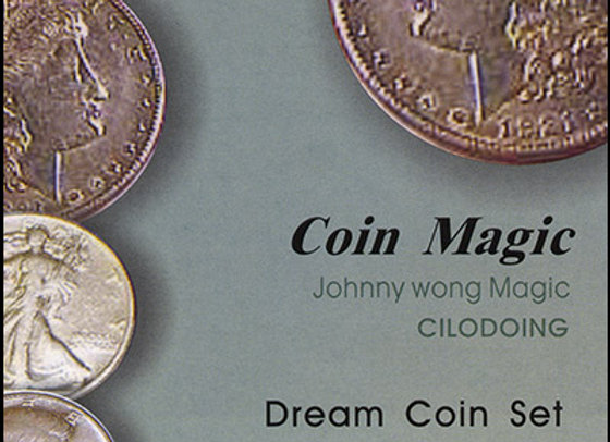 Dream Coin Set (with DVD) by Johnny Wong (GV $12)