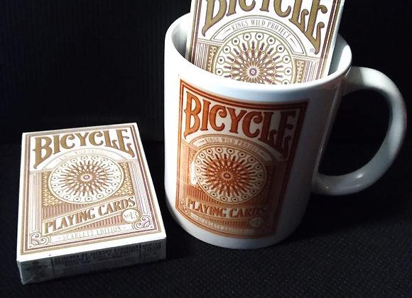 Bicycle Scarlett Playing Cards Mug set