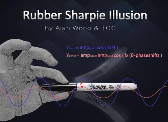 Rubber Sharpie Illusion by Alan Wong & TCC (GV $6)