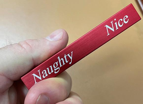 Naughty or Nice Divining Rod - by Santa Magic (GV $6)