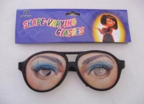 Female Joke Funny Glasses