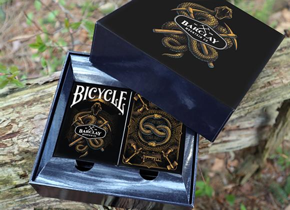 Bicycle Barclay Mountain Playing Cards Set (2 Decks) -  (GV $12)