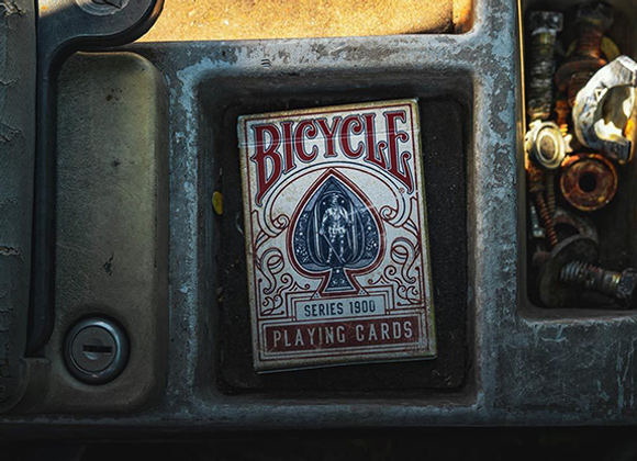 Bicycle 1900 Red Playing Cards (GV $2)