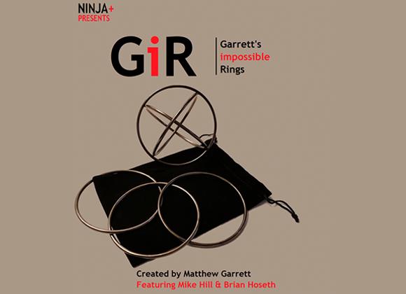 GIR Ring Set BLACK CHROME by Matthew Garrett