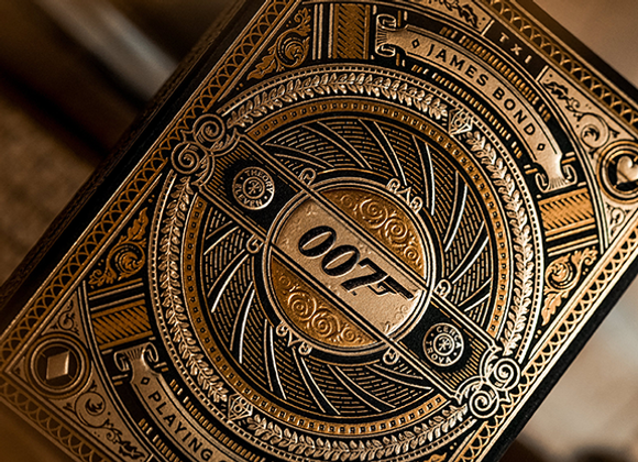 James Bond 007 Playing Cards by theory11