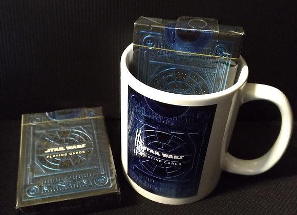 Star Wars Light Side (Blue) Playing Cards by theory11 Mug set
