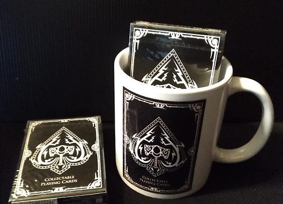 DOTA 2 Series 1 Playing Cards (Black) Mug set