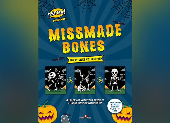 MISMADE BONES by Magic and Trick Defma (GV $12)