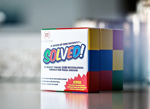 Solved by Adam Wilber ellusionist  (Preowned)