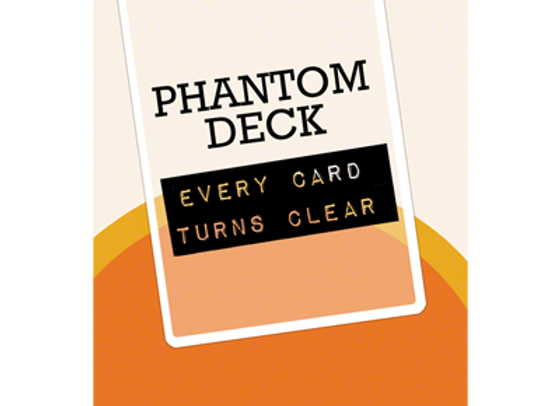 Phantom Deck by Joshua Jay and Vanishing, Inc. (GV $6)