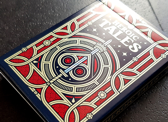 Heroic Tales Playing Cards by Giovanni Meroni