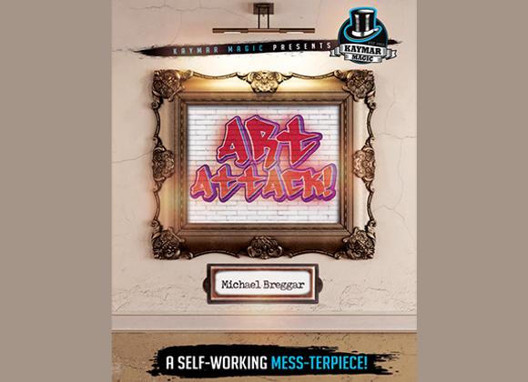 Art Attack by Michael Breggar and Kaymar Magic (GV $6)