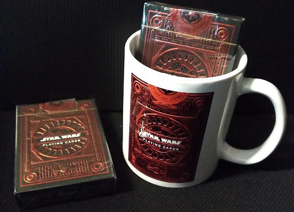 Star Wars Dark Side (RED) Playing Cards by theory11 Mug set
