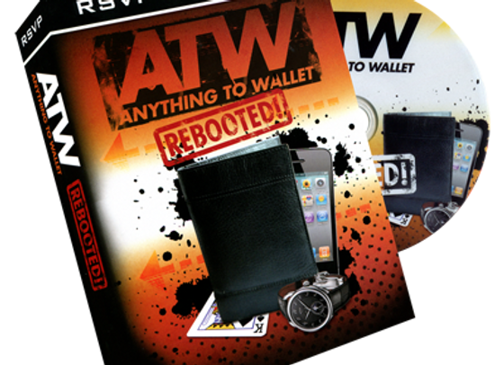 Instant ATW (Anything to Wallet) Wallet  by RSVP (Preowned)