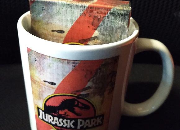 Jurassic Park Playing Cards Mug Set