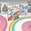 Thumbnail: Rainbow Unicorn Fun Time! Playing Cards Mug set