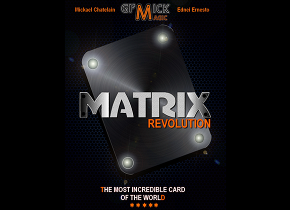 MATRIX REVOLUTION by Mickael Chatelain (GV $10)