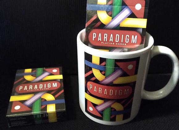 Paradigm Playing Cards by Derek Grimes Mug set