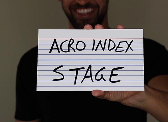 "Acro Index Dry Erase Large 5""x8"" by Blake Vogt (GV $25)"