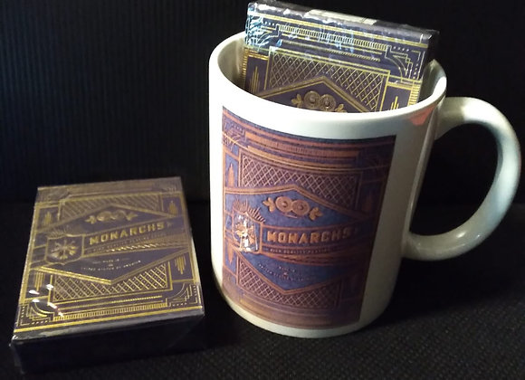 Monarch Royal Edition (Purple) Playing Cards Mug set