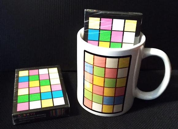 Limited Edition Kubik V2 Playing Cards Mug set