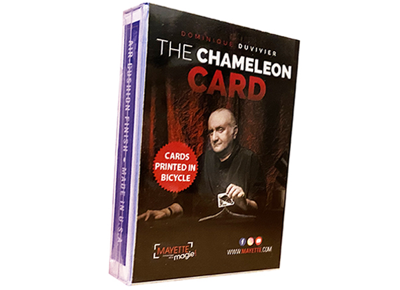 The Chameleon Card 2 by Dominique Duvivier (GV $6)