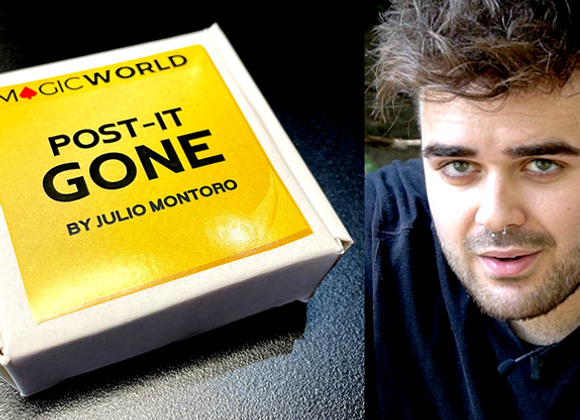 POST IT GONE by Julio Montoro and MagicWorld