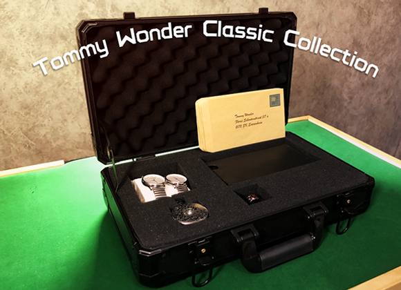 Tommy Wonder Classic Collection Ring Watch & Wallet by JM Craft (GV $200)