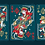 Thumbnail: Bicycle Twilight Geung Si Playing Cards