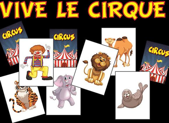 VIVE LE CIRQUE by Sébastien Delsaut (GV $12)