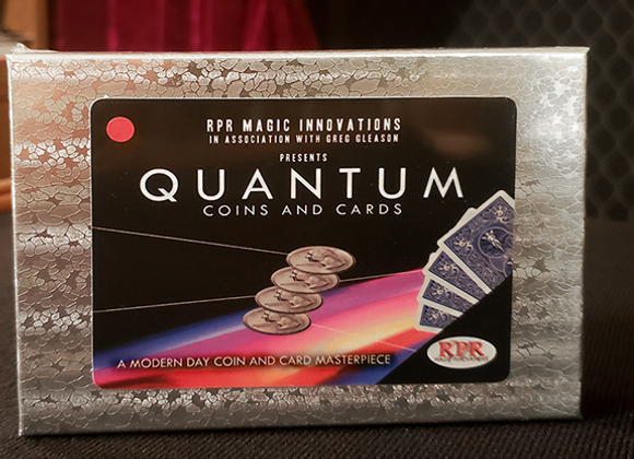 Quantum Coins (US Quarter) by Greg Gleason and RPR Magic