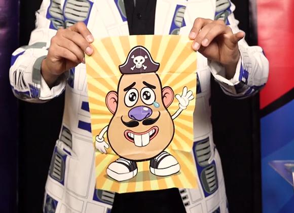 Mr. P / Magic Restored Potato (Pirate) by Magic & Trick