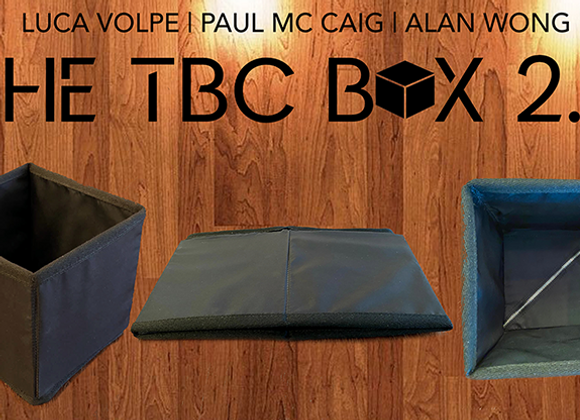 TBC Box 2 by Paul McCaig and Luca Volpe (GV $40)