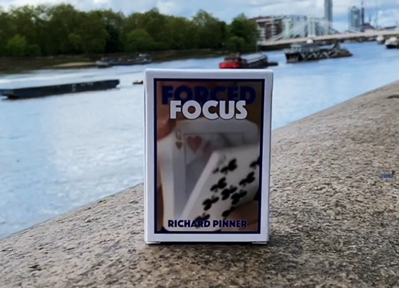 FORCED FOCUS RED by Richard Pinner (GV $11)