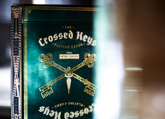 The Crossed Keys Playing Cards (GV $2)