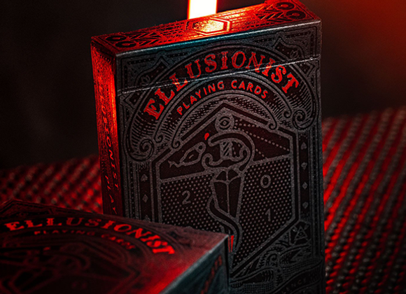Ellusionist Deck: Black Anniversary Edition Playing Cards (GV $3)