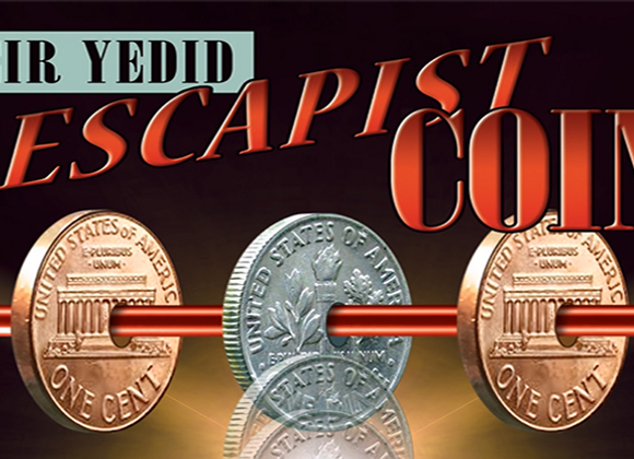Escapist Coin (DVD and Gimmicks) by Meir Yedid